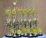 The 2011 Toxie awards, ready to meet their recipients.