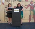 CHANGE Campaign Director Kathryn Alcantar and PSR-LA Executive Director Martha Dina Arguello.