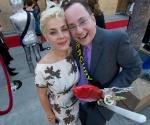 Mercury (Edward Enriquez-Cohen) and Jana Diaz Juhl.