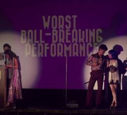Worst Ball-Breaking Performance Nominees await winner