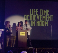 Hosts prepare to announce Lifetime Achievement in Harm