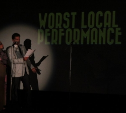 The nominees for Worst Local Performance are...