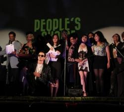 All Toxies await the People's Choice award